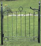 Country Cottage Garden Gate By ACHLA Designs