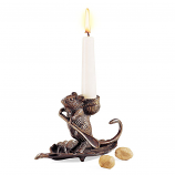 Minuteman Intrepid Mouse Candleholder