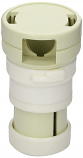 Bayonet Style Cleaning Head Only for Caretaker Cleaning Heads-White