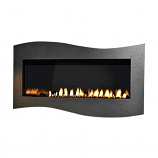 Boulevard IP Contemporary Linear Vent-Free 28k BTU Fireplace - LP
