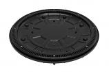 Color Match 360-02 20in Unblockable 360 Pebble Top Drain - Black