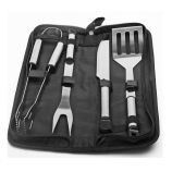 5 Piece Stainless Steel BBQ Tool Set