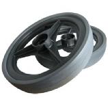 "12"" Rear Wheels For RoVac 3 Motor Vacuum, 1 Pair"