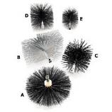 """RoVac 16"""" ButtonFlex Polypropylene Brush"""