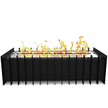 Regal Flame GRT1018 PRO 18in Ethanol Fireplace Grate Burner Insert - 2.6Liter