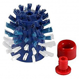 The Pool'N Brush Sweep Hose Tail Scrubber for Pool Cleaners