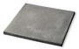 Diversitech UC36362 36x36x2in Ultralite Lightweight Concrete Equipment Pad