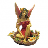 Red Fairy of Acorn Hollow Statues