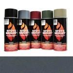 Moss Green - 1200 Degree Wood Stove High Temp Paint -