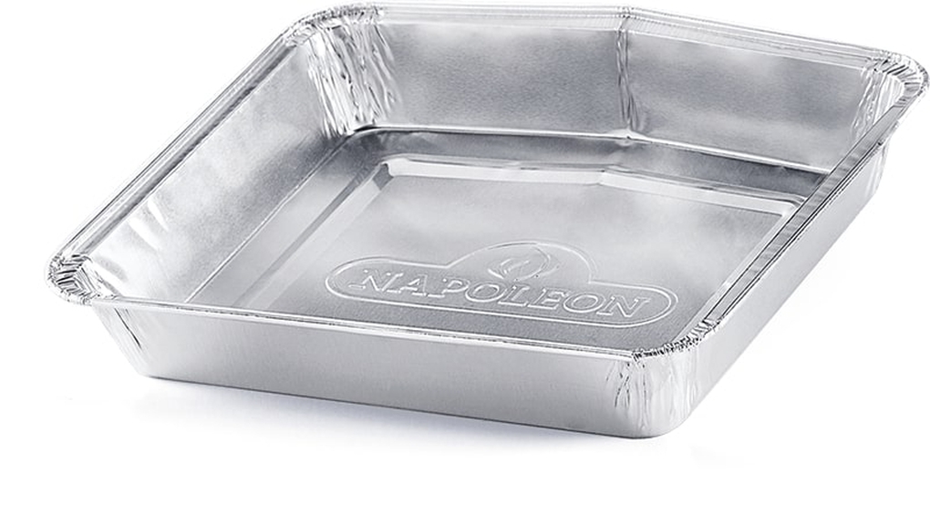 Napoleon Disposable Aluminum Grease Trays TravelQ Series - Pack of 5