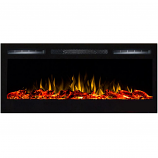 Regal Flame LW2035WL Lexington 35in Wall Mounted Electric Fireplace - Log