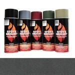Golden Fire Brown - 1200 Degree Wood Stove High Temp Paint -