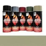 Sand - 1200 Deg Wood Stove High Temp Paint -