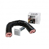 "Osburn AC01240 Fresh Air Intake Kit - 3"" x 5'"