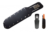 Harvest Knife Sheath w/stainless rivets and belt  clip