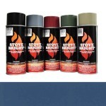 Patriot Blue - 1200 Degree Wood Stove High Temp Paint -