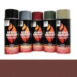 Mojave Red - 1200 Degree Wood Stove High Temp Paint -