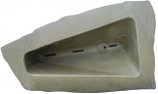 RTS ERG2000 Left Triangle Landscape Rock - Oak/Armor Stone