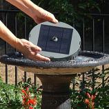 Smart Living 21300R01 Aquanura Solar Birdbath Kit