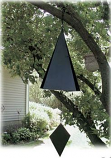 Rome 16 Inch Lonesome Canyon Bell - Wrought Iron with Black Finish