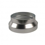 """Continental Fan 8"""" - 6"""" Duct Reducer/Increaser - Galvanized"""