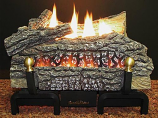 "Buck Stove 18"" Ceramic Series VF Log Set w/ MV Control - NG"