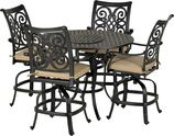 Patio Resort RCTWR48-VC1 Venice 5-Piece Counter Set