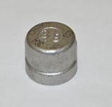 HPC 3/8 Inch Brass Cap