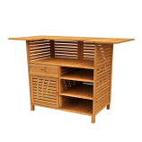 Outdoor Bar with Storage