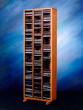 Solid Oak Tower for CD's Model 309-4