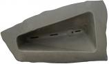 RTS ERG2000 Left Triangle Landscape Rock - Grey/Armor Stone