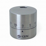 Round Mechanical Timer - silver