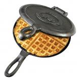 Rome Old Fashioned Waffle Iron - Cast Iron