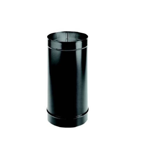 "DuraVent 10"" DuraBlack Welded Black Stove Pipe 12"" Length"