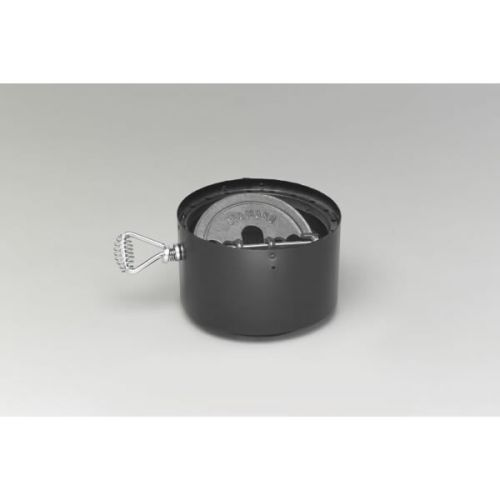 """DuraVent DVL 6"""" Double-Wall Stove Adaptor with Damper Section"""