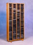 Solid Oak Tower for CD's Model 409-4