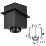 """11"""" Square Ceiling Support Box - 6"""""""