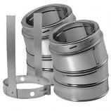 "15 Degree Stainless Steel Elbow Kit - 6"""
