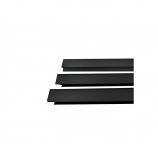 "Osburn OA10128 Black Large Faceplate Trim - 29"" x 50"""