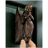 Balinese Winged Mermaid Doorknocker