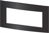 """Decorative 36.5"""" Eclipse Front with Barrier Screen - Matte Black"""