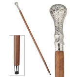 Hambleton Chrome Empress Collection Walking Stick