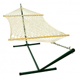 Steel Stand with Rope Hammock Combination