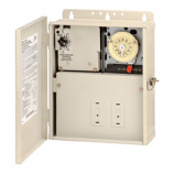 Intermatic PF1112T Power Center with 1 T104M Time Switch