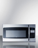 "Summit OTRSS301 30"" Wide Over-The-Range Microwave In Stainless Steel"