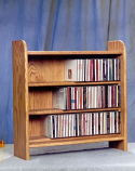 The Wood Shed 302 CD Cabinet - Dark