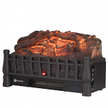 Regal Flame LW8052WD 20in Electric Fireplace Bed Insert with Heater in Oak