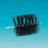 """Poly Round Chimney Cleaning Brush - 7"""""""