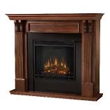Ashley Electric Mahogany Fireplace