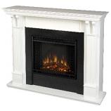 Ashley Electric White Fireplace